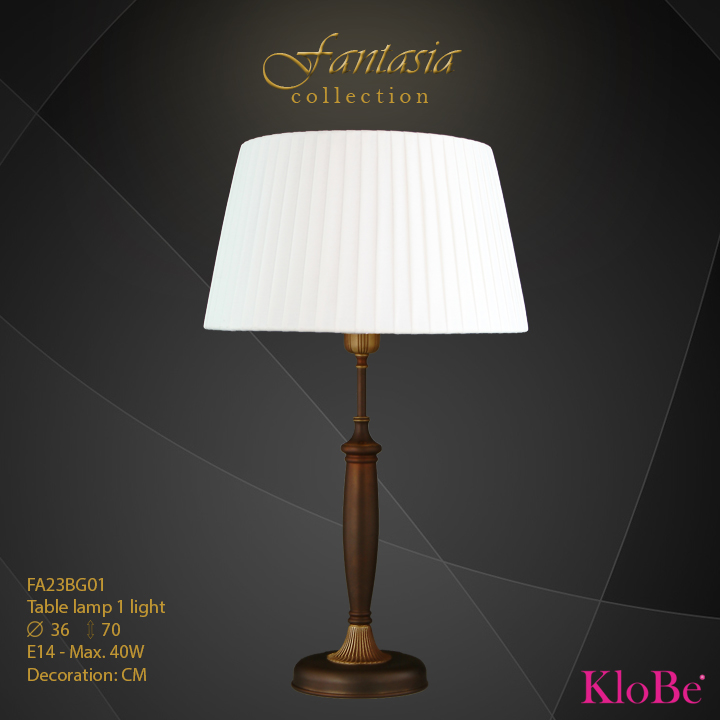 FA23BG01 -TL  1L  Fantasia collection KloBe Classic