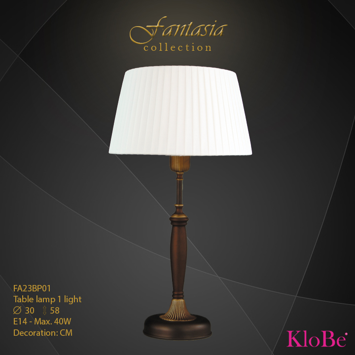 FA23BP01 -TL  1L  Fantasia collection KloBe Classic