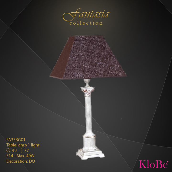 FA33BG01 -TL  1L  Fantasia collection KloBe Classic