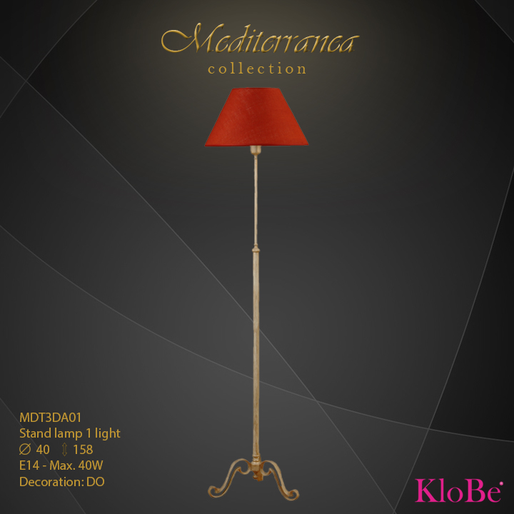 MDT3DA01 (DO) - SL 1L  Mediterranea collection KloBe Classic
