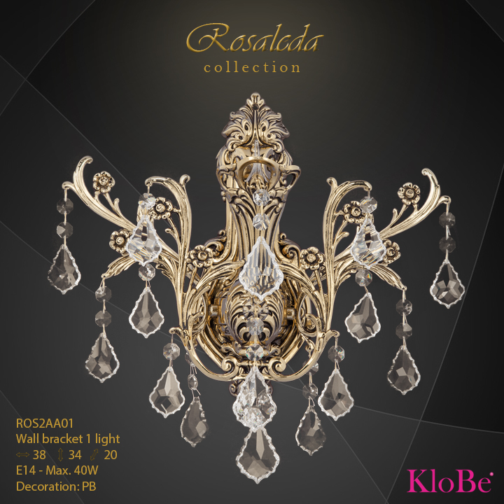 ROS2AA01  - WB  1L  Rosaleda collection KloBe Classic