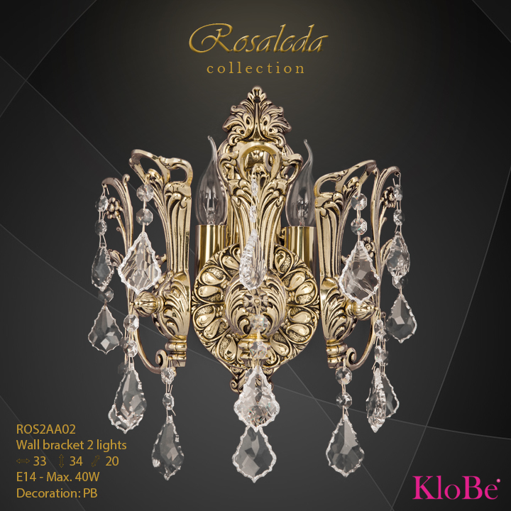 ROS2AA02  - WB  2L  Rosaleda collection KloBe Classic