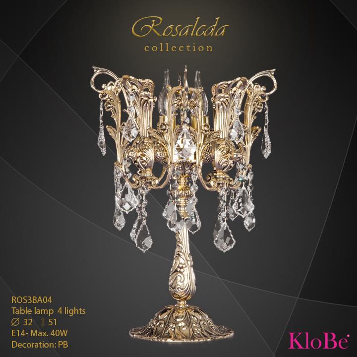 ROS3BA04  - TL  4L  Ribera collection KloBe Classic
