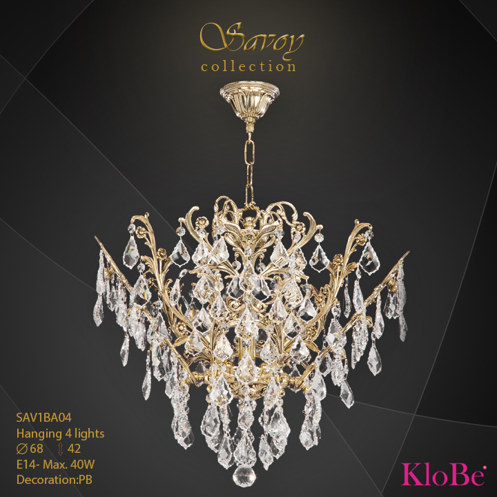 SAV1BA04  - HANGING  4L  Savoy collection KloBe Classic