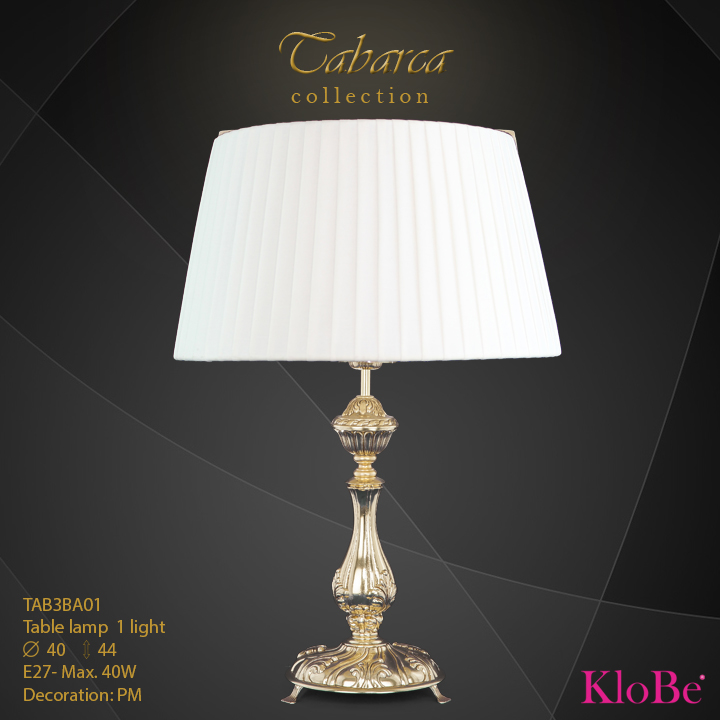 TAB3BA01  - TL  1L  Tabarca collection KloBe Classic