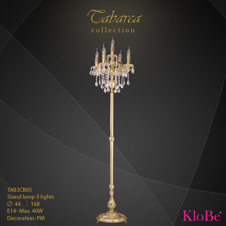 TAB3cb05  - SL  5L  Tabarca collection KloBe Classic