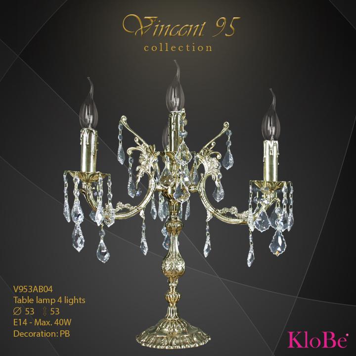 V953AB04 - TL  4L  V95 collection KloBe Classic