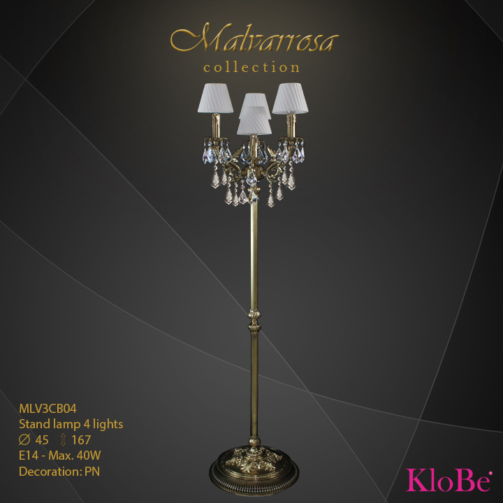 MLV3CB04 -SL 4L Malvarrosa collection KloBe Classic