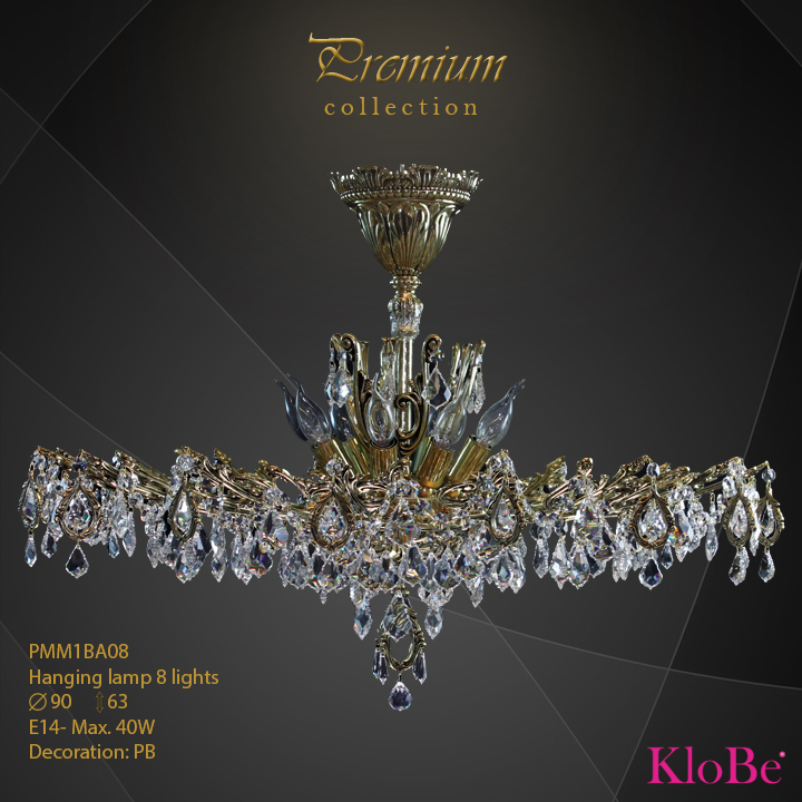 PMM1BA08 - Hanging lamp 8 L Premium collection KloBe Classic