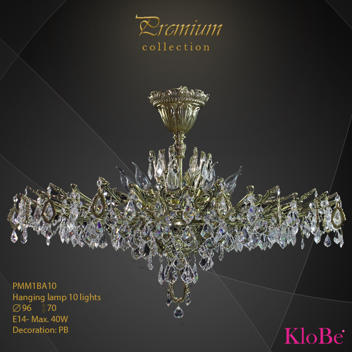 PMM1BA10 - Hanging lamp 10 L Premium collection KloBe Classic