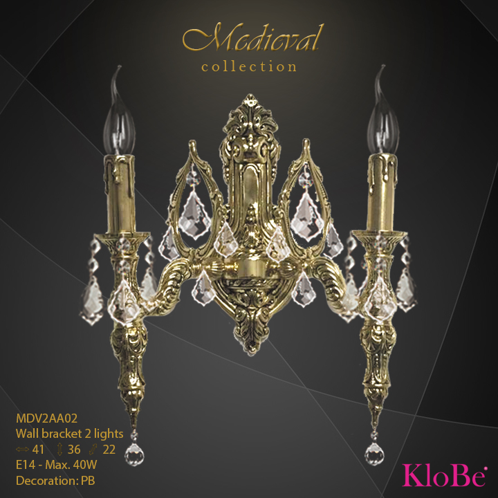 MDV2AA02  - WB  2L  Medieval collection KloBe Classic