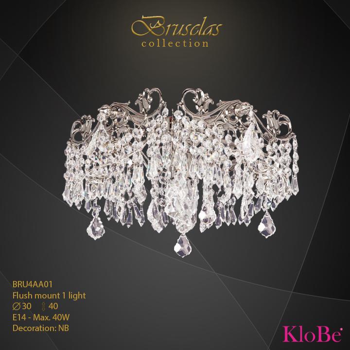 Luminaria empotrada 1 luces - Colección Bruselas - KloBe Classic