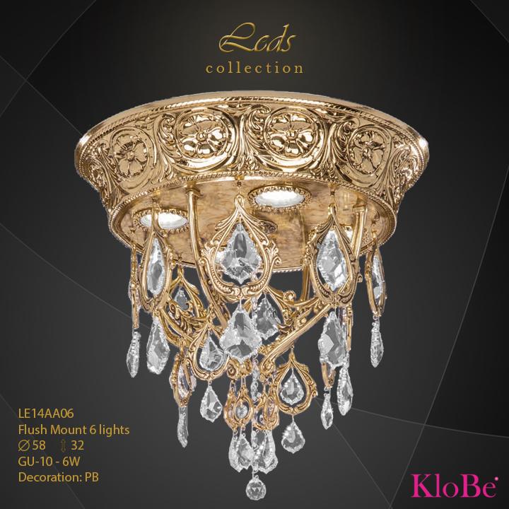 Luminaria empotrada 6 luces - Coleccións Leds - KloBe Classic