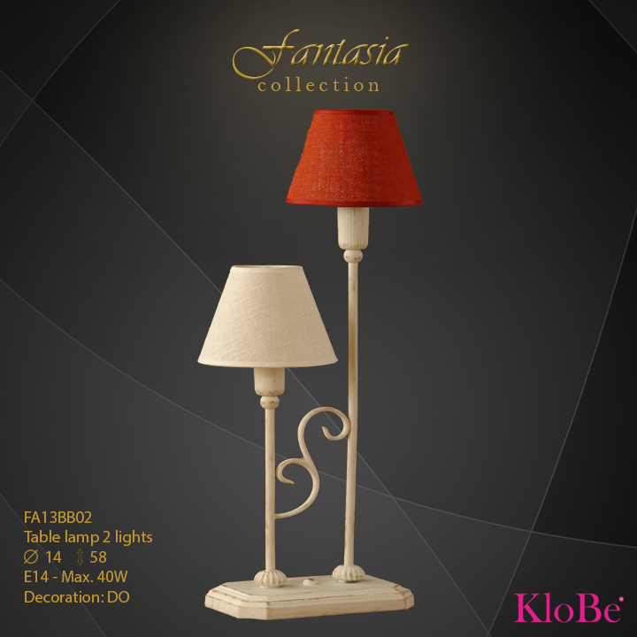 FA13BB02 -TL  2L  Fantasia collection KloBe Classic