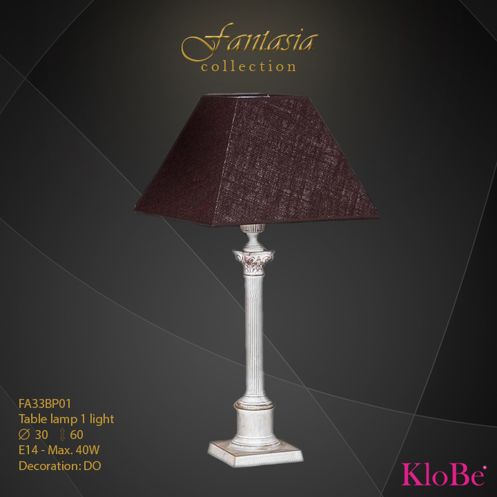 FA33BP01 -TL  1L  Fantasia collection KloBe Classic