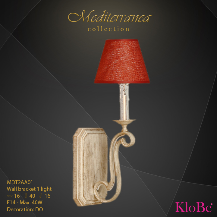 MDT2AA01 (DO) - WB  1L  Mediterranea collection KloBe Classic