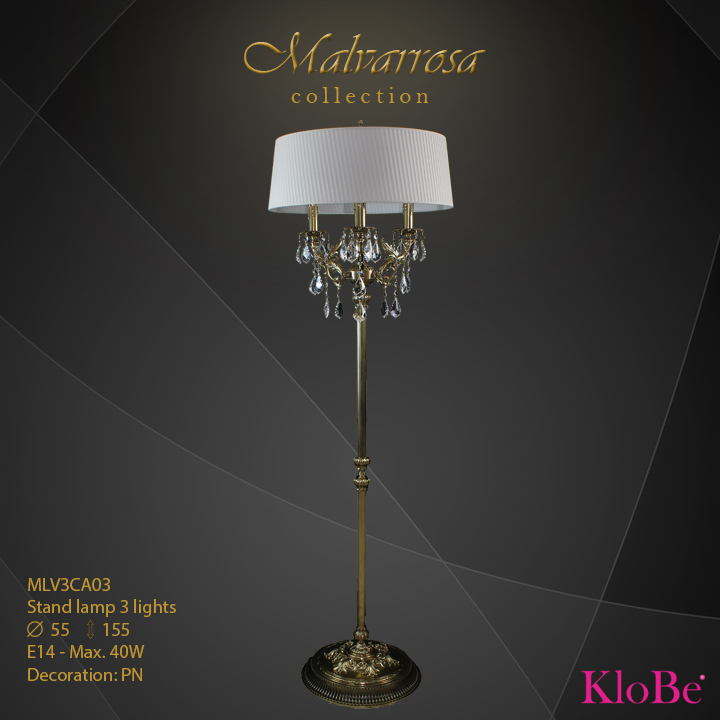 MLV3CA03 - SL 3L Malvarrosa collection KloBe Classic