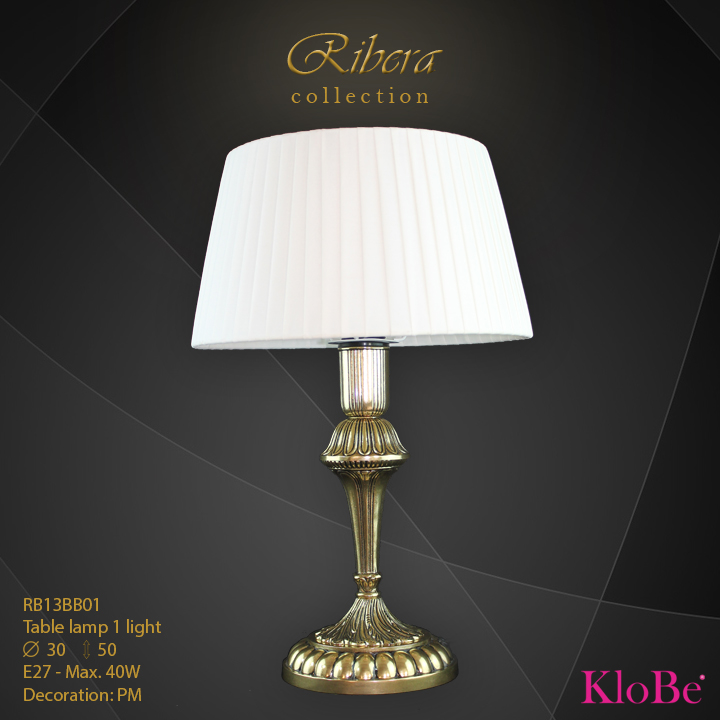 RBR13BB01  - TL  1L  Ribera collection KloBe Classic