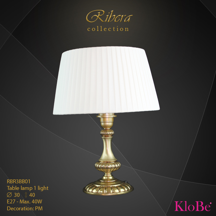 RBR3BB01  - TL  1L  Ribera collection KloBe Classic