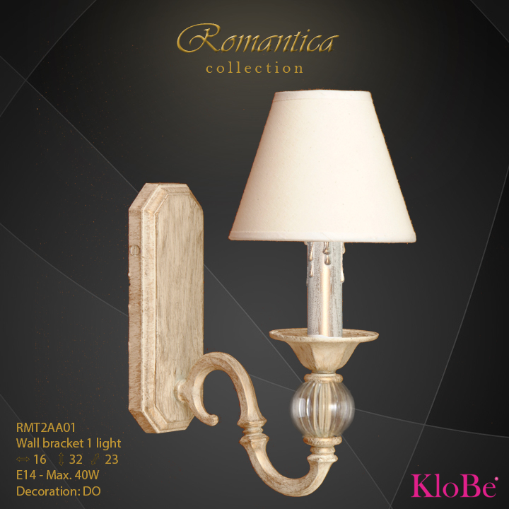 RMT2AA01 (DO) - WB  1L  Romantica collection KloBe Classic