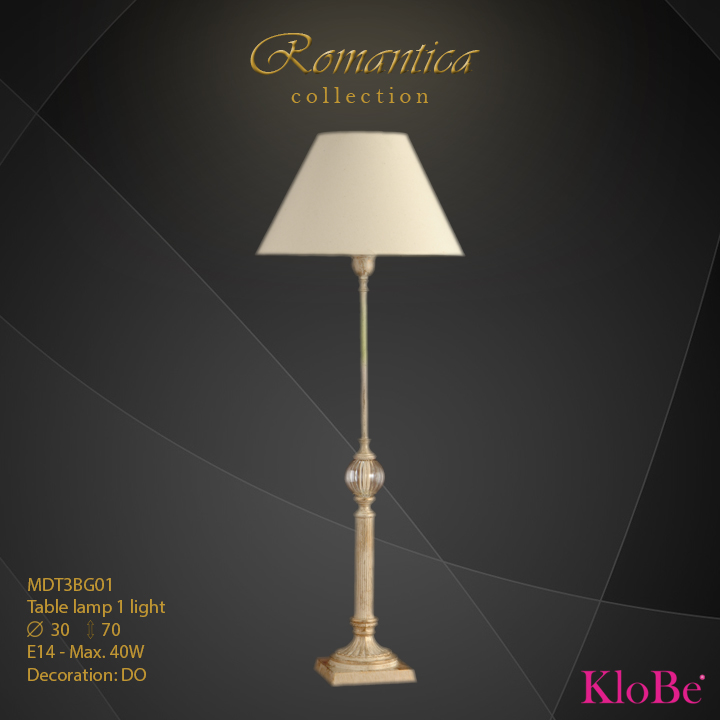 RMT3BG01 (DO) - TL  1L  Romantica collection KloBe Classic