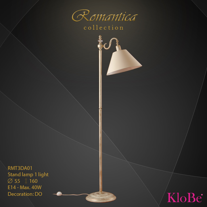 RMT3DA01 (DO) - SL  1L  Romantica collection KloBe Classic