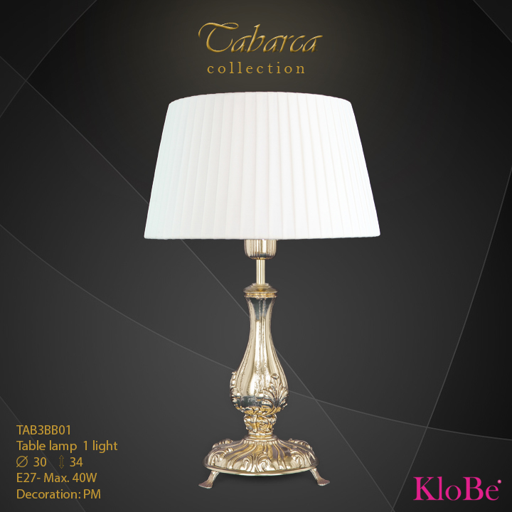 TAB3BB01  - TL  1L  Tabarca collection KloBe Classic