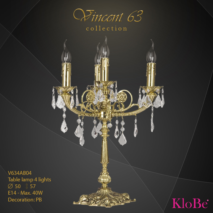 V634AB04 -TL 4L   v.63 collection KloBe Classic