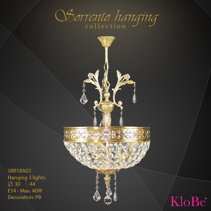 sorrento- HANGING 3L  sorrento palmera collection KloBe Classic